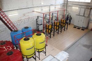 станция обеззараживания воды хлором