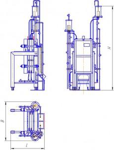 Электролизер мембранный типа МБ